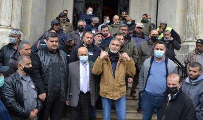 """اعتصام لـ""""عمال طرابلس"""" احتجاجاً على عدم انصافهم"""