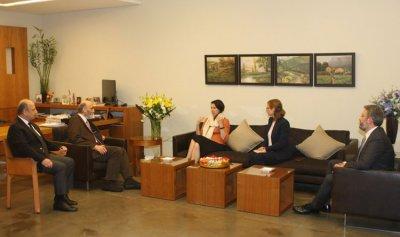 جعجع وسفيرة أستراليا بحثا التطورات السياسيّة