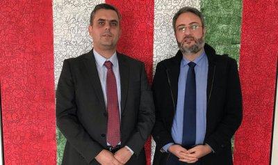 الهندي يلتقي القائم بالأعمال البلغاري في لبنان