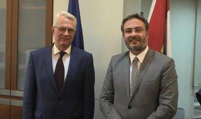 الهندي التقى سفير المجر
