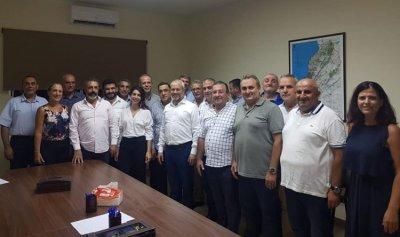 حبشي يلتقي اللجنة الإدارية لجمعية إنماء معاد