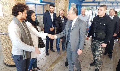 بالصور: بوعاصي يزور مؤسسة الهادي للاعاقة السمعية والبصرية