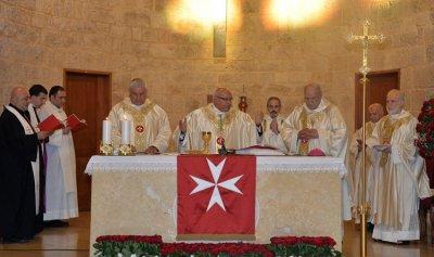 منظمة مالطا في لبنان احتفلت بعيد مار يوحنا المعمدان