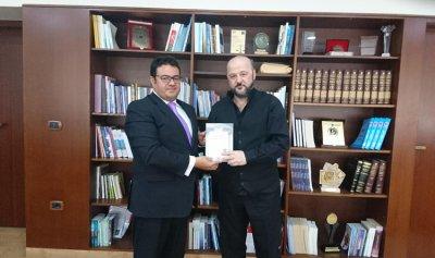 الرياشي تسلم من انطونيو ابوكسم كتاب دور القضاء الدستوري في بناء دولة الحق