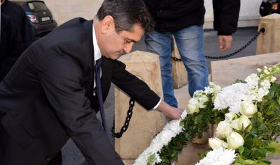 """قيومجيان لـ""""القوات"""": بين شهداء الأرمن والمقاومة اللبنانية قضية واحدة"""