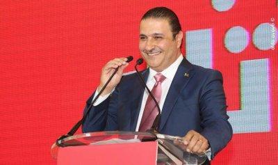 سعد: معك لبنان القوي ما كان شعار