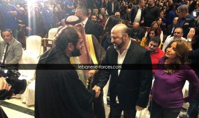 بالصور – الرياشي: باسم الآب الرحمن الرحيم