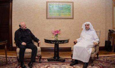 الرياشي التقى الامين العام لرابطة العالم الاسلامي