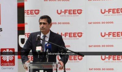 قيومجيان لجريصاتي: لا نتهرب من المسؤولية في ملف النازحين لكن لن نتعدى على صلاحيات الوزارات