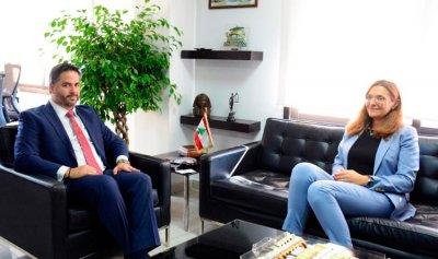 سفيرة الدنمارك: مستعدون لمساعدة لبنان