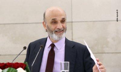 جعجع: حزب الله يستقتل ليفتح باباً معنا