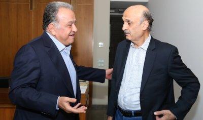 جعجع عرض لآخر التطورات مع مكاري