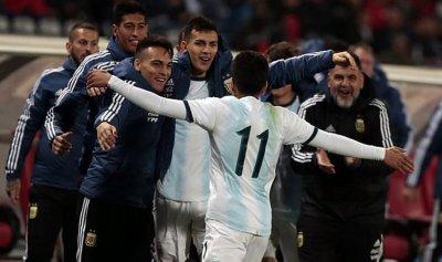 الأرجنتين تحسم ودية المغرب في وقت متأخر