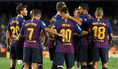 برشلونة يسعى لتعزيز هجومه
