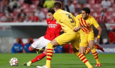 برشلونة مُهدد بالخروج المبكر من دوري الأبطال