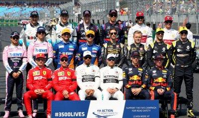 رواتب سائقي الفورمولا وان لعام 2019