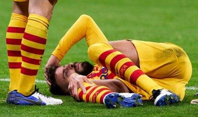 برشلونة يكشف عن تفاصيل إصابة بيكيه