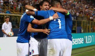 بالفيديو: ايطاليا تكتسح اسبانيا بثلاثية