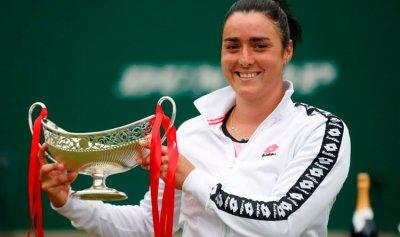 أول عربية تدخل قائمة أفضل لاعبات التنس في العالم