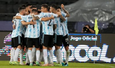 الأرجنتين تفوز على أوروغواي بهدف رودريغيز