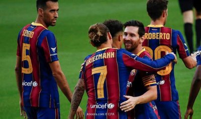 برشلونة ممنوع من إبرام صفقات جديدة