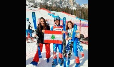 نتائج مشجعة لمنتخب لبنان في بطولة التزلج الألبي