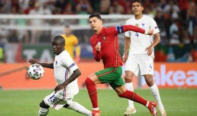 البرتغال تتعادل مع فرنسا ويتأهلان لدور الـ16