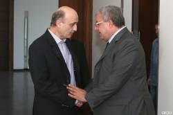 وزير الداخلية والبلديات نهاد المشنوق في معراب