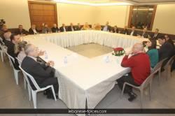 اجتماع النائب ستريدا جعجع مع لجنة بقاعكفرا