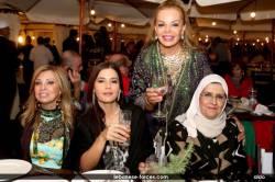 النائب جعجع في مهرجان ارز تنورين