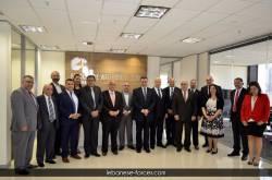زيارة النائب المعلوف إلى غرفة التجارة الأسترالية اللبنانية