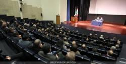 حاصباني يزور جامعة البلمند وورشة بناء المستشفى