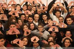جعجع مع طلاب بيروت و المتن