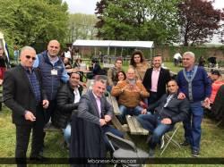 مشاركة قوات بلجيكا في الـ Barbecue السنوي لرعية سيدة لبنان في بروكسل