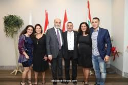 """عشاء  مركز وينذرور في حزب \""""القوّات اللبنانيّة\"""" في ليمنتون -2"""