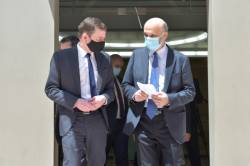 جعجع يلتقي مساعد وزير الخارجية الاميركية للشؤون السياسية ديفيد هيل
