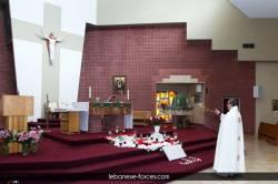 قداس لشهداء 4 آب في تورنتو - كندا