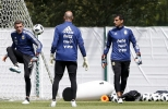 كأس العالم: تمارين المنتخب الارجنتيني