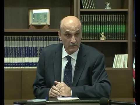 مؤتمر صحافي لد.جعجع ٠٩-١٠-٢٠١٤
